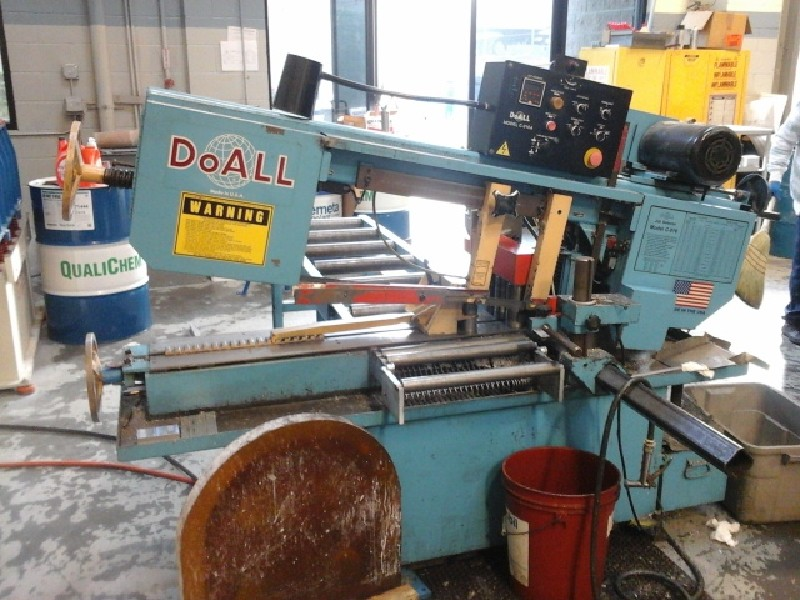 Saws: Gently used DoAll C-916A Automatic Horizontal Bandsaw